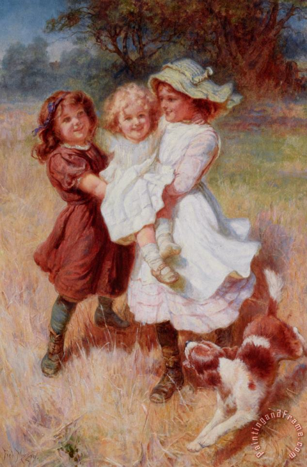 Good Friends painting - Frederick Morgan Good Friends Art Print