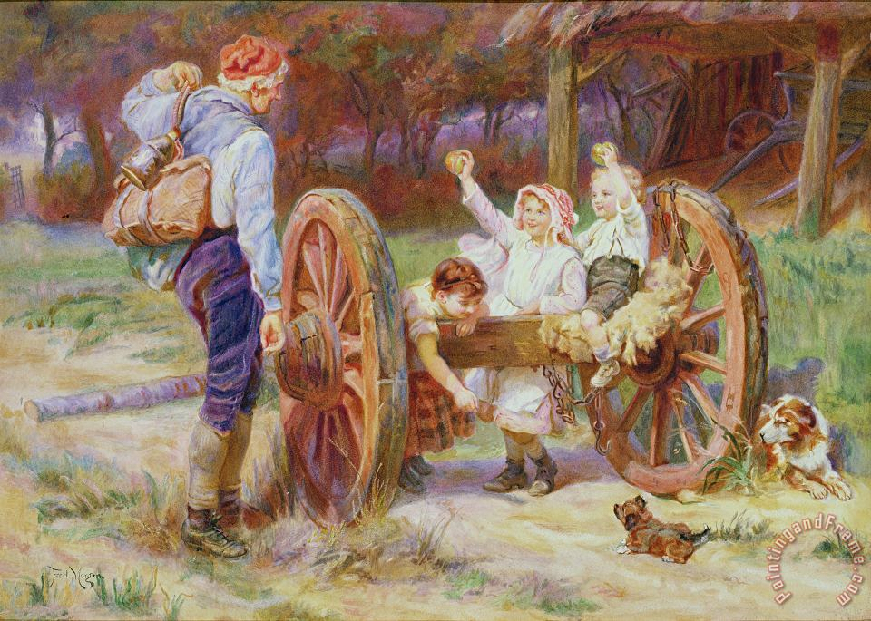 Frederick Morgan Happy as the Days are Long Art Painting