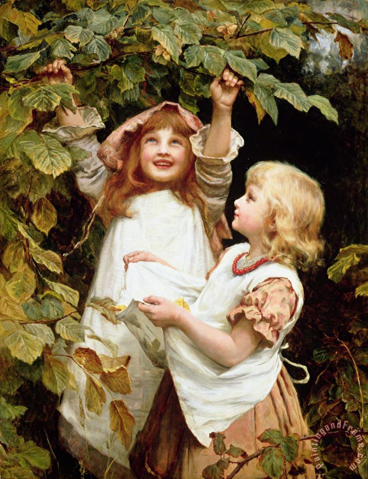 Frederick Morgan Nutting Art Print