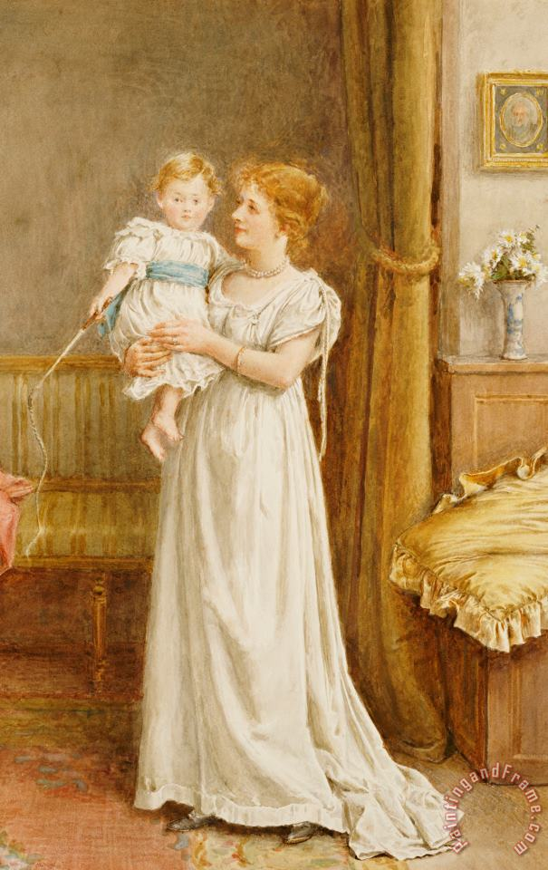 The Master Of The House painting - George Goodwin Kilburne The Master Of The House Art Print