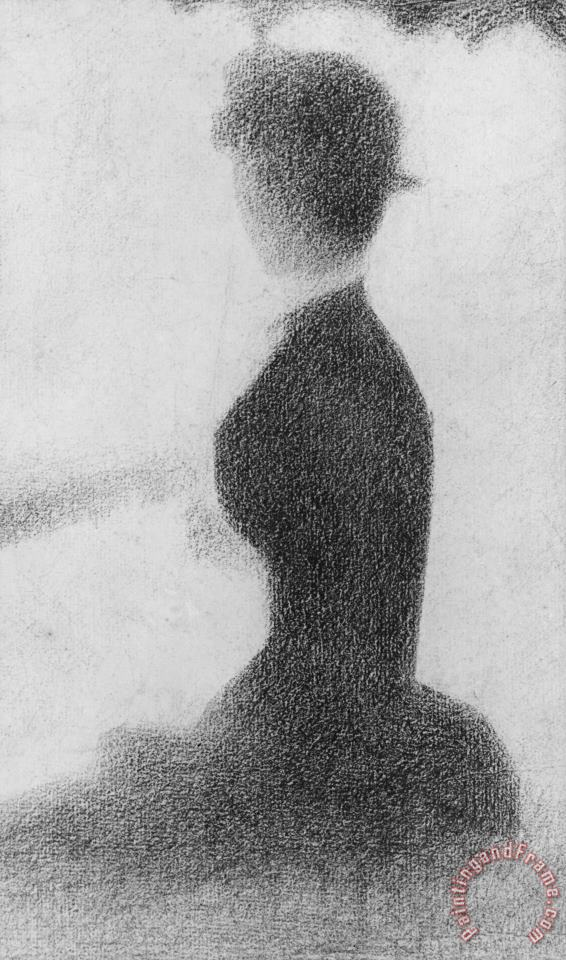 Georges Pierre Seurat Study For Sunday Afternoon On The Island Of La Grande Jatte Art Painting