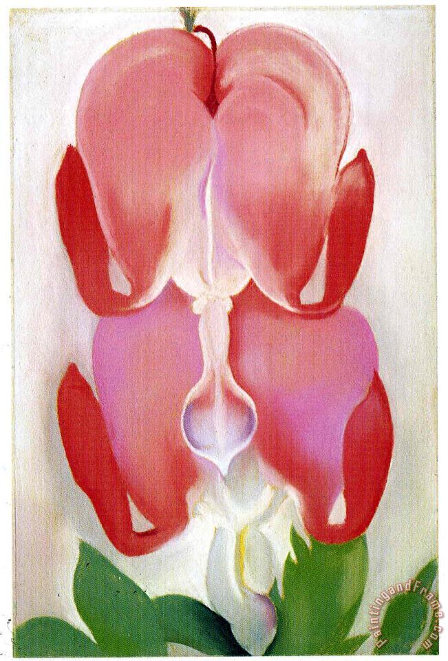 Bleeding Heart painting - Georgia O'keeffe Bleeding Heart Art Print