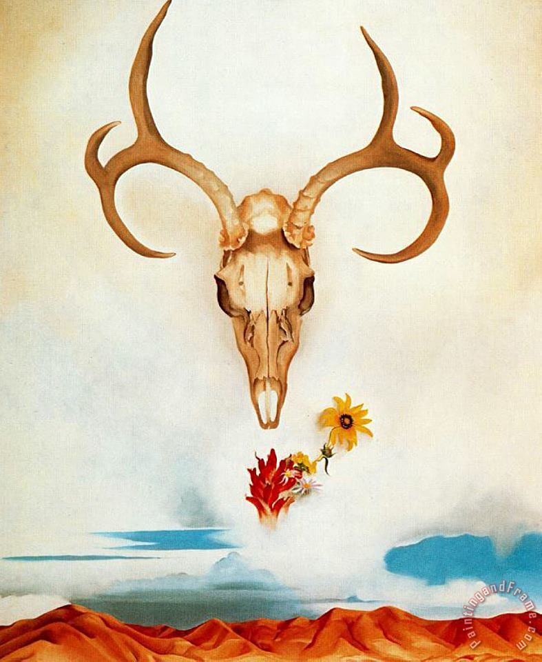 Summer Days painting - Georgia O'keeffe Summer Days Art Print