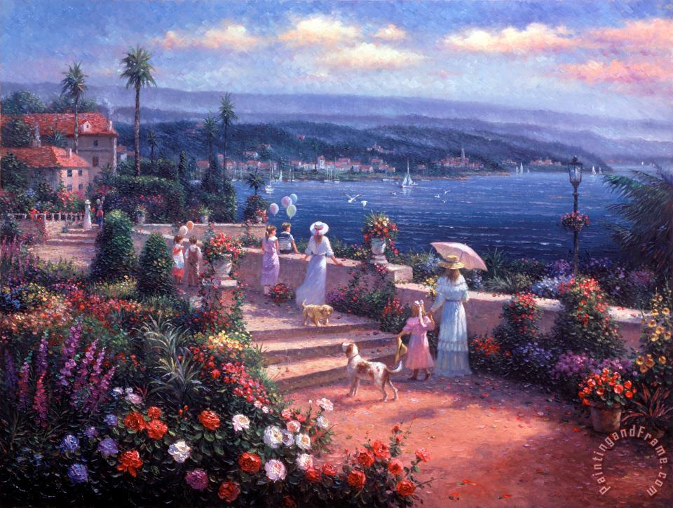 Ghambaro Seaside View Art Painting