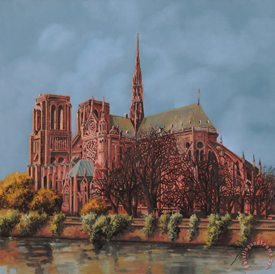 Notre-Dame París by Spanish Diego Delso Giclee Photo Choose Canvas or Paper