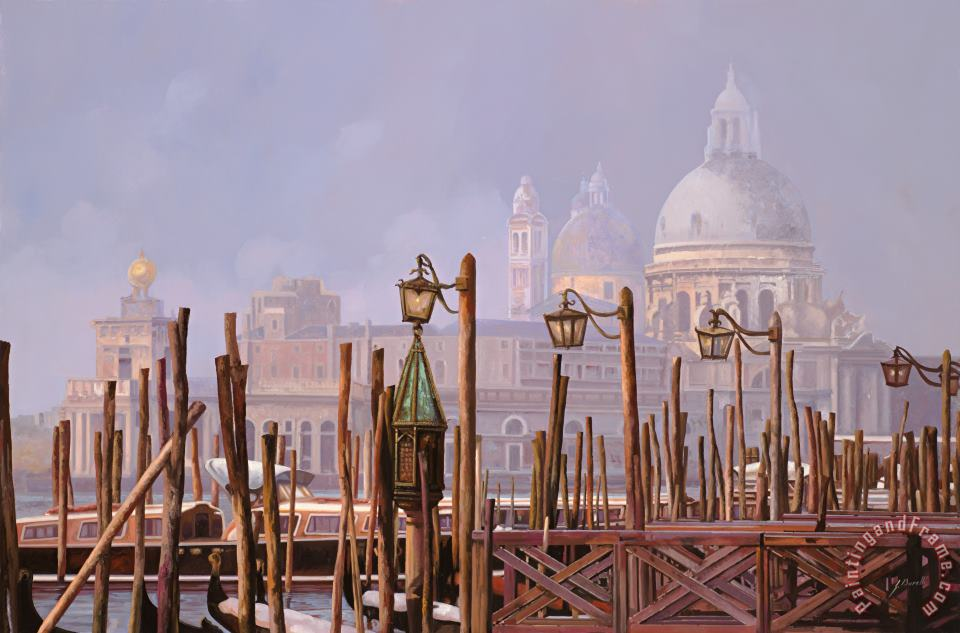 Collection 7 Venezia E La Nebbia Art Print
