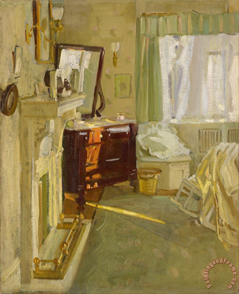 Interior painting - Helen Galloway Mcnicoll Interior Art Print