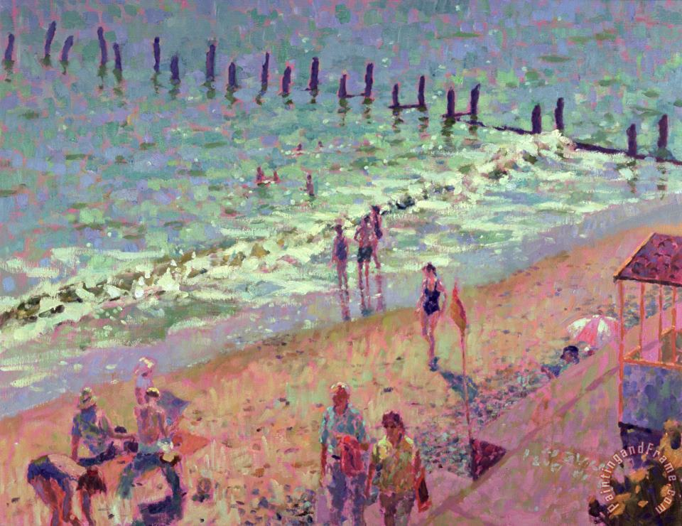 Southwold July Morning painting - Hugo Grenville Southwold July Morning Art Print