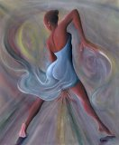 Blue Dress by Ikahl Beckford