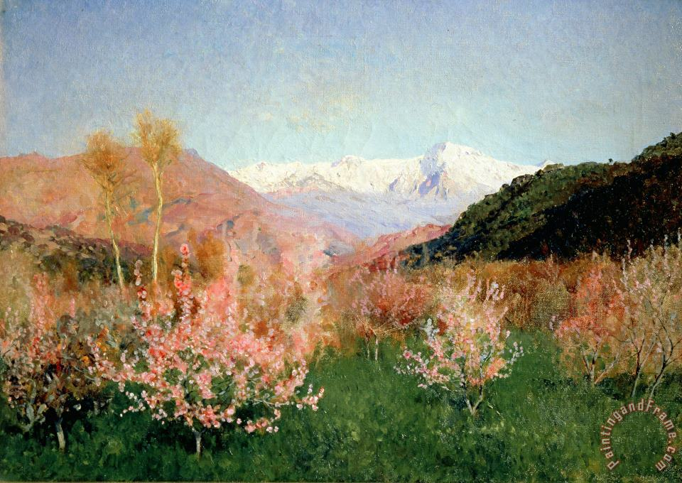 Isaak Ilyich Levitan Spring in Italy Art Painting