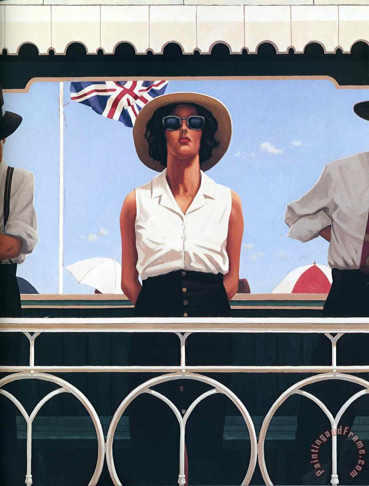 Bird on The Wire Jack painting - Jack Vettriano Bird on The Wire Jack Art Print