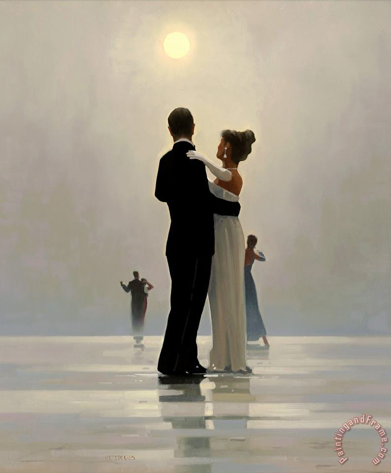 Jack Vettriano Dance Me to The End of Love Art Print