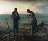 The Angelus by Jean-Francois Millet