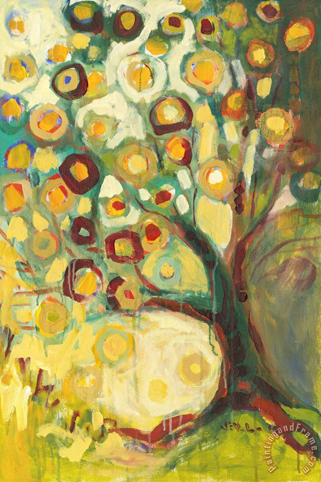 Jennifer Lommers Tree of Life in Autumn Art Print
