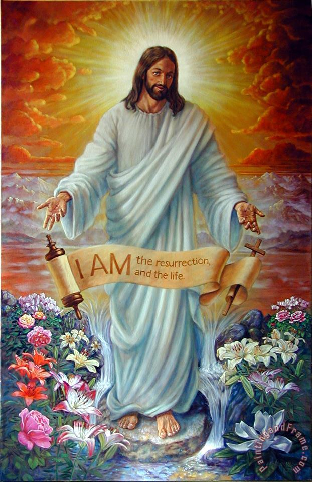 John Lautermilch I AM the Resurrection Art Print