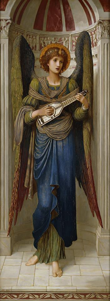 Angels painting - John Melhuish Strudwick Angels Art Print