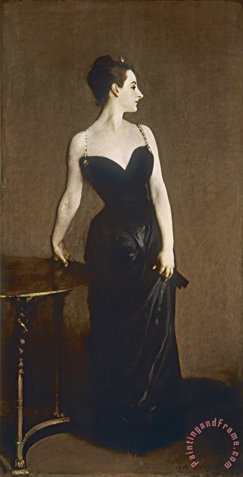 Portrait Of Madame Gautreau painting - John Singer Sargent Portrait Of Madame Gautreau Art Print