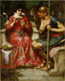 Dejeuner Sur L Herbe 1876 77 Oil on Canvas Prints - Jason And Medea 1907 Oil on Canvas by John William Waterhouse