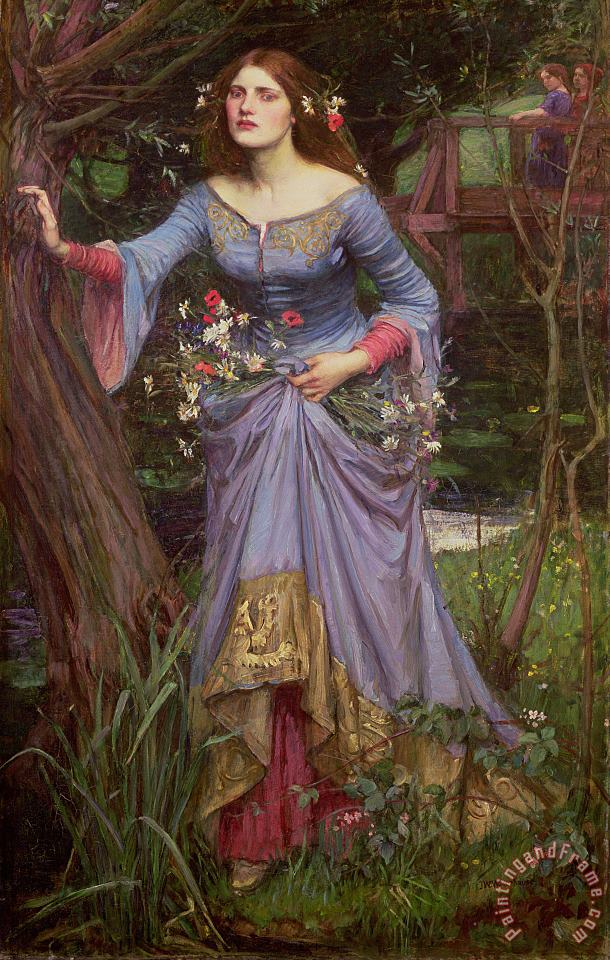 John William Waterhouse Ophelia Art Print