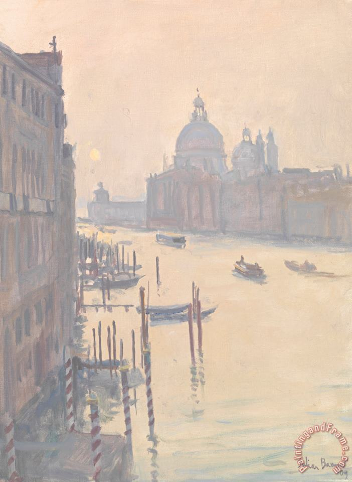 Julian Barrow Sunrise From Accademia Bridge Art Print
