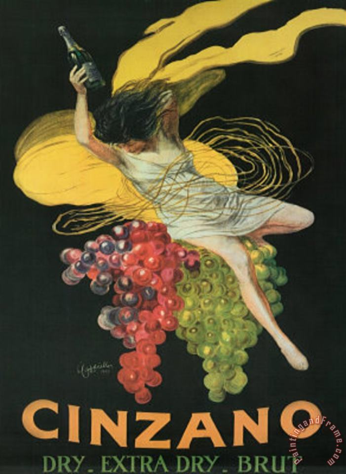 Cinzano Art Poster Print painting - Leonetto Cappiello Cinzano Art Poster Print Art Print
