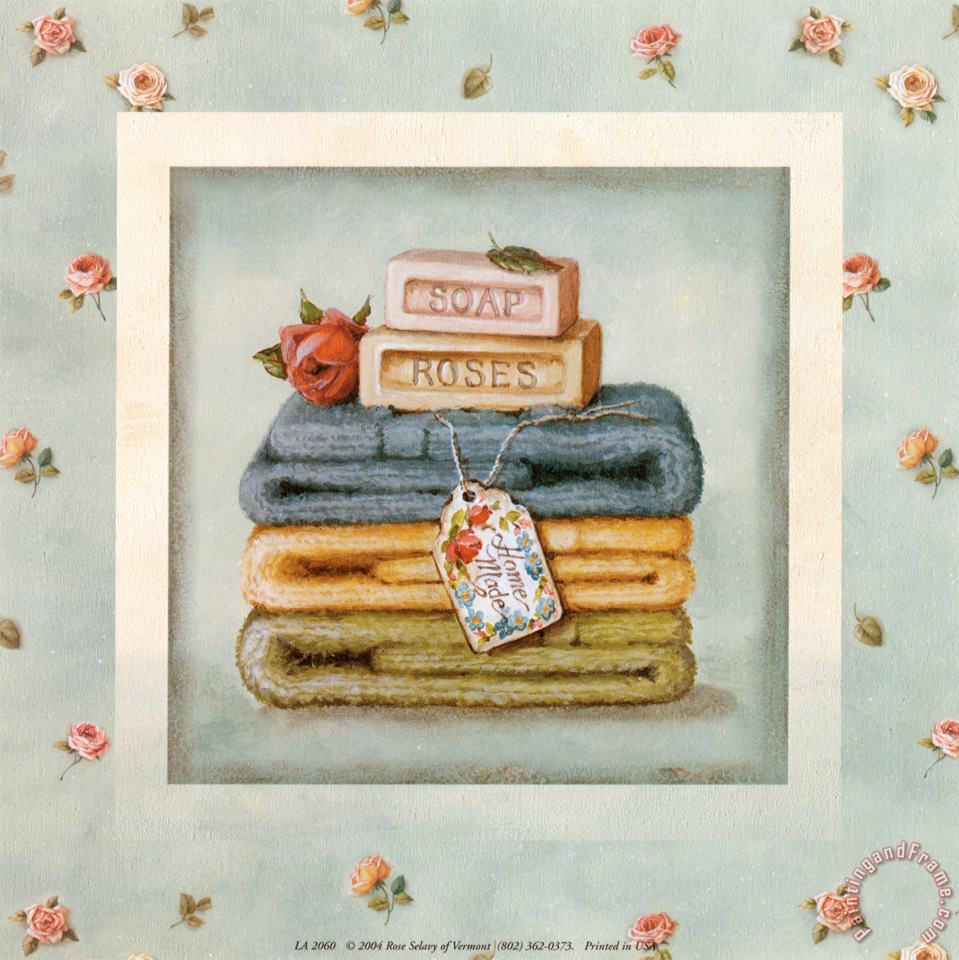 Lisa Audit Soap And Towels Art Painting