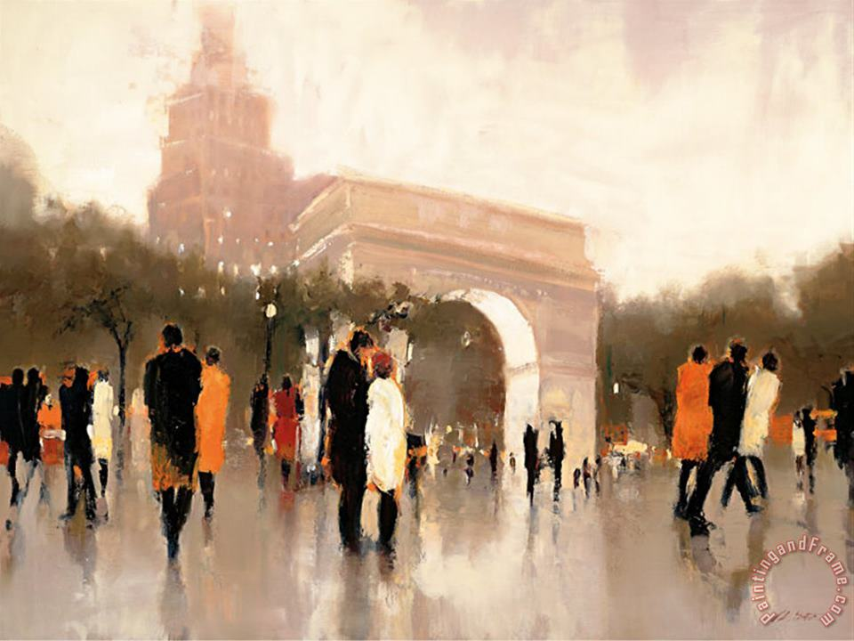 Monumental Day painting - Lorraine Christie Monumental Day Art Print
