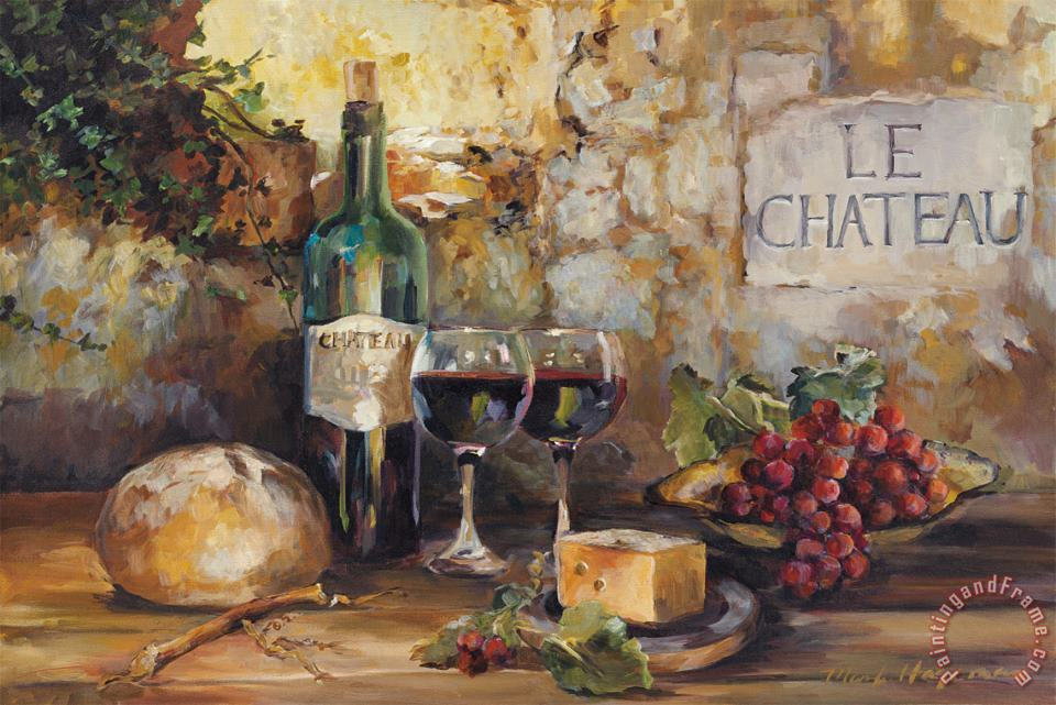 Marilyn Hageman Le Chateau Art Painting