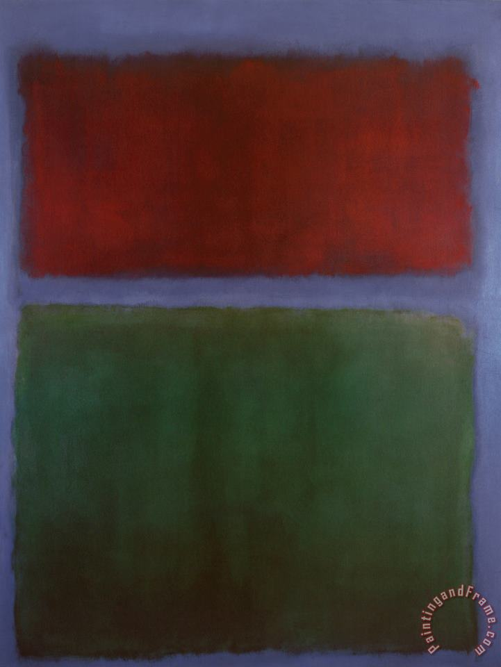 Earth And Green painting - Mark Rothko Earth And Green Art Print
