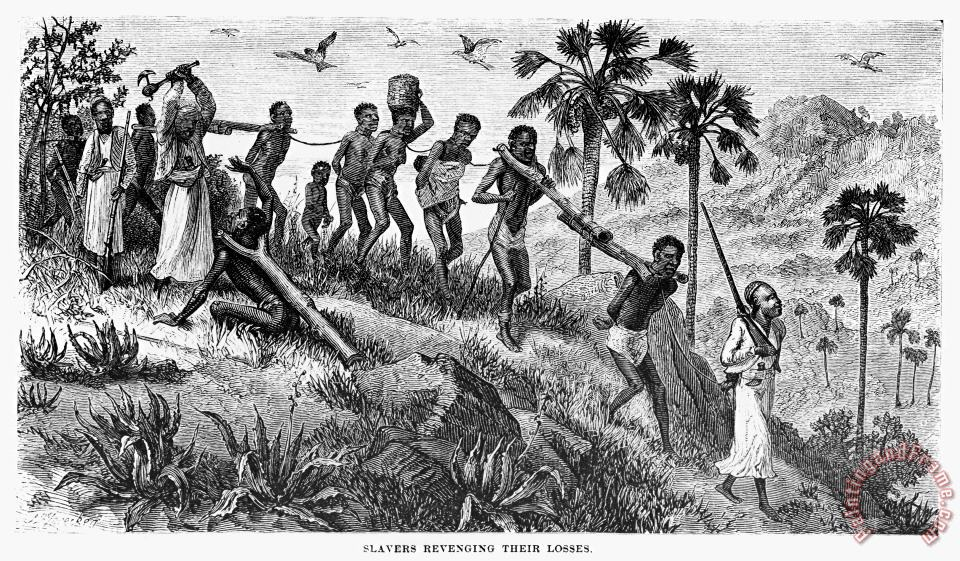 Africa: Slave Trade painting - Others Africa: Slave Trade Art Print