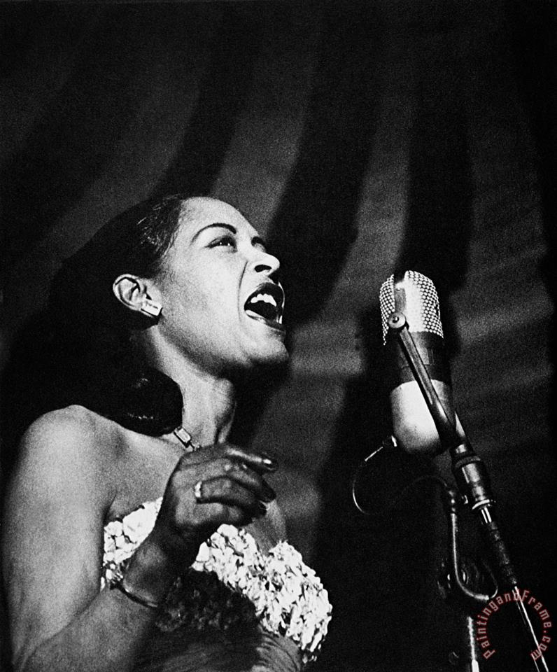 Billie Holiday (1915-1959) painting - Others Billie Holiday (1915-1959) Art Print