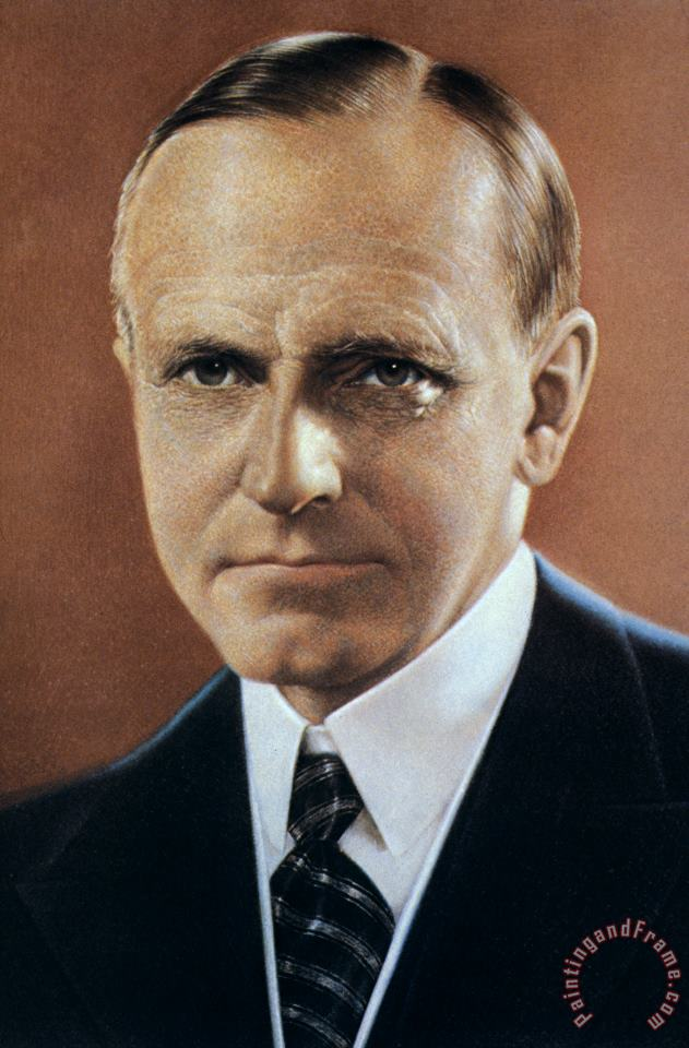 Calvin Coolidge (1872-1933) painting - Others Calvin Coolidge (1872-1933) Art Print