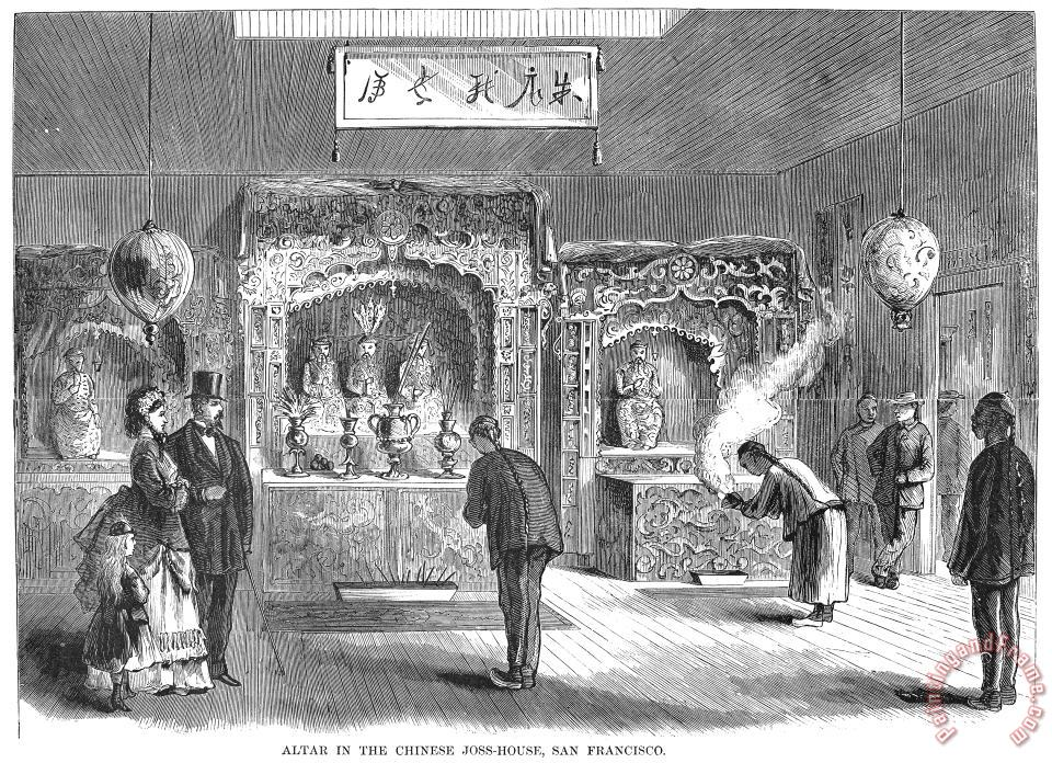 Immigrants: Chinese, 1871 painting - Others Immigrants: Chinese, 1871 Art Print
