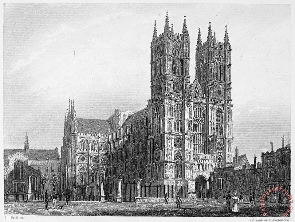 London: Westminster Abbey painting - Others London: Westminster Abbey Art Print