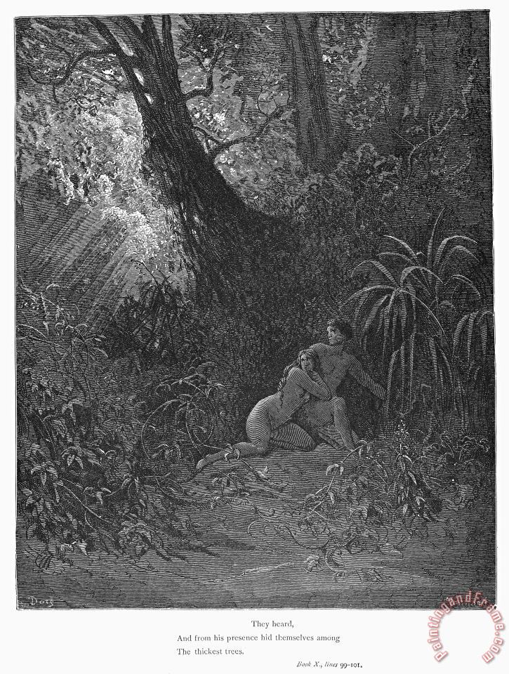 Others Milton Paradise Lost Painting Milton Paradise Lost Print For Sale