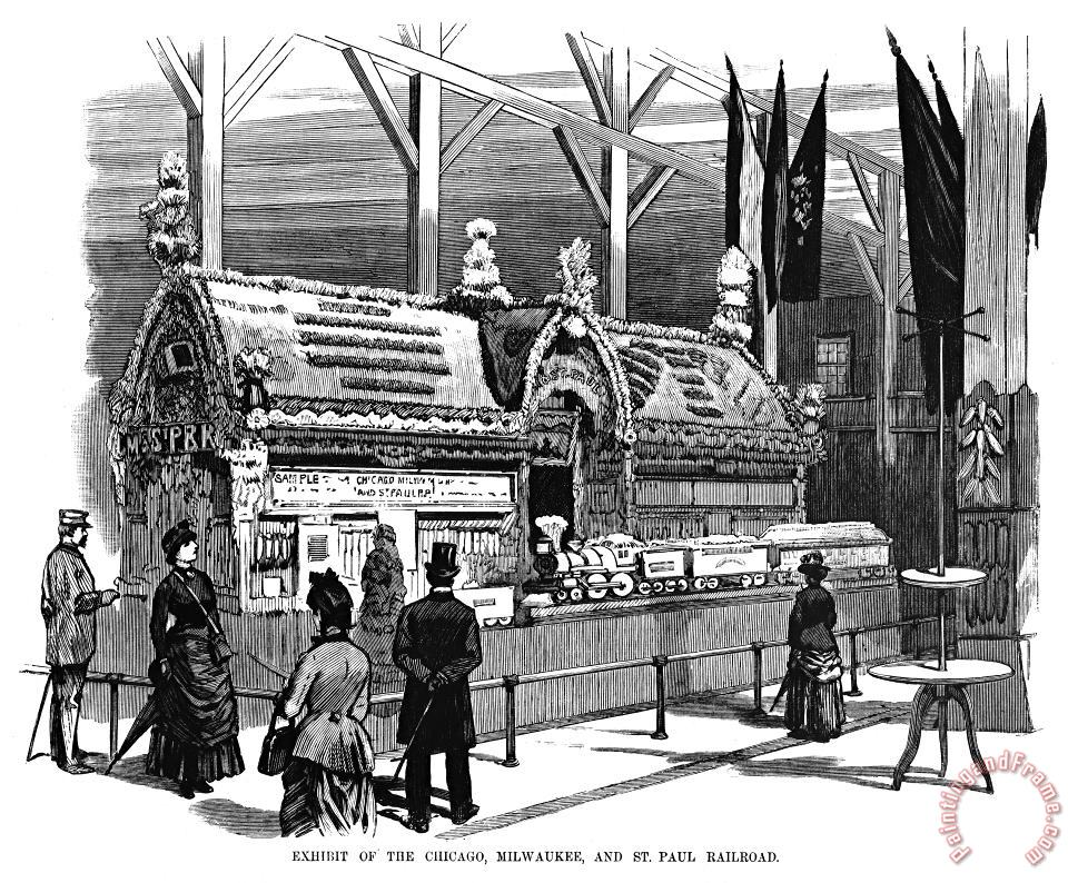 New Orleans Fair, 1884 painting - Others New Orleans Fair, 1884 Art Print