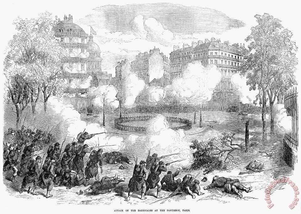Paris Commune, 1871 painting - Others Paris Commune, 1871 Art Print