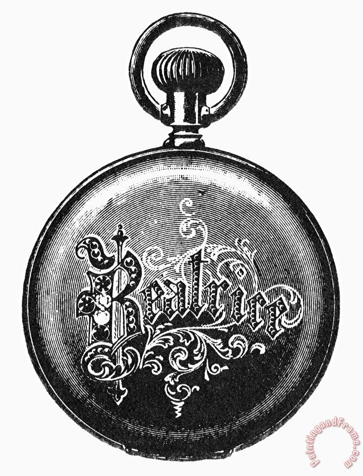 POCKET WATCH, 19th CENTURY painting - Others POCKET WATCH, 19th CENTURY Art Print