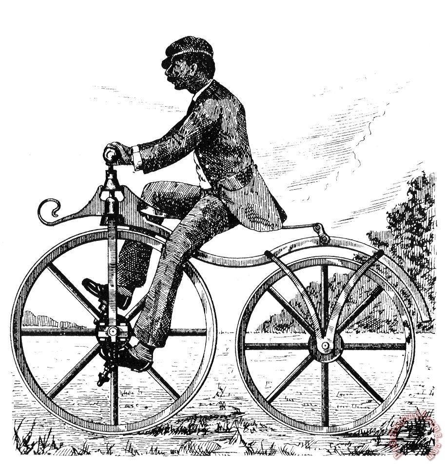 Others Velocipede, 1866 Art Print