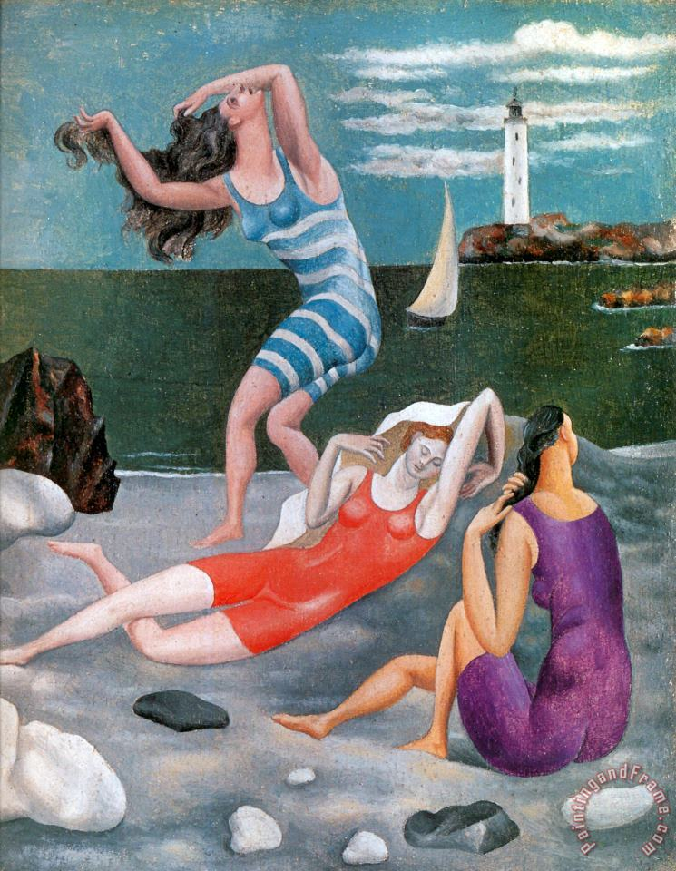 Pablo Picasso The Bathers C 1918 Art Painting