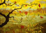 Apple Tree with Red Fruit by Paul Ranson