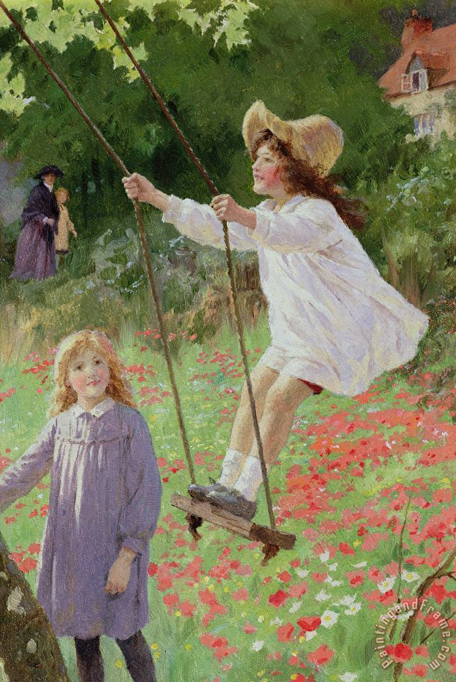 Percy Tarrant The Swing painting The Swing print for sale
