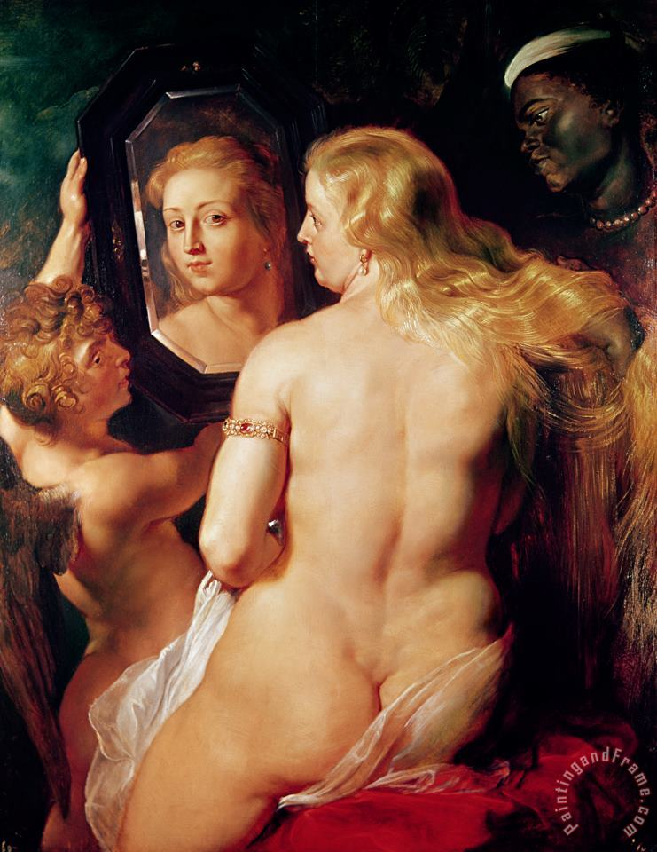 The Toilet of Venus painting - Peter Paul Rubens The Toilet of Venus Art Print