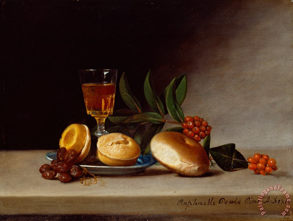Still Life with a Wine Glass painting - Raphaelle Peale Still Life with a Wine Glass Art Print