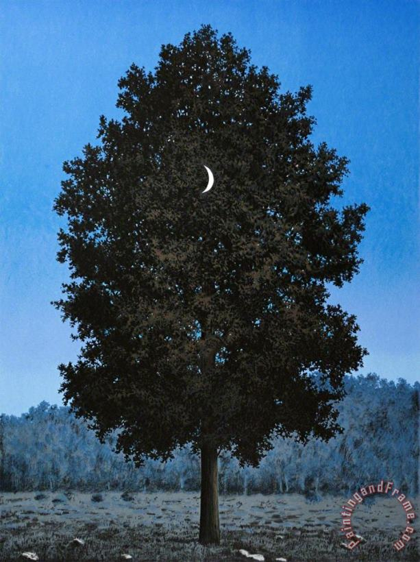 Le Seize Septembre (the Sixteenth of September), 2010 painting - rene magritte Le Seize Septembre (the Sixteenth of September), 2010 Art Print