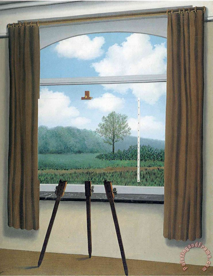 rene magritte The Human Condition 1933 Art Painting