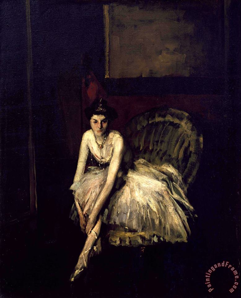 Ballet Dancer painting - Robert Henri Ballet Dancer Art Print