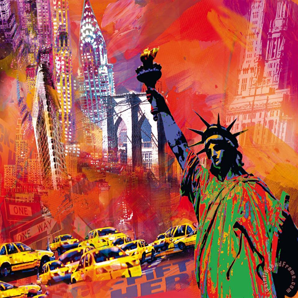 Robert Holzach New York Art Print