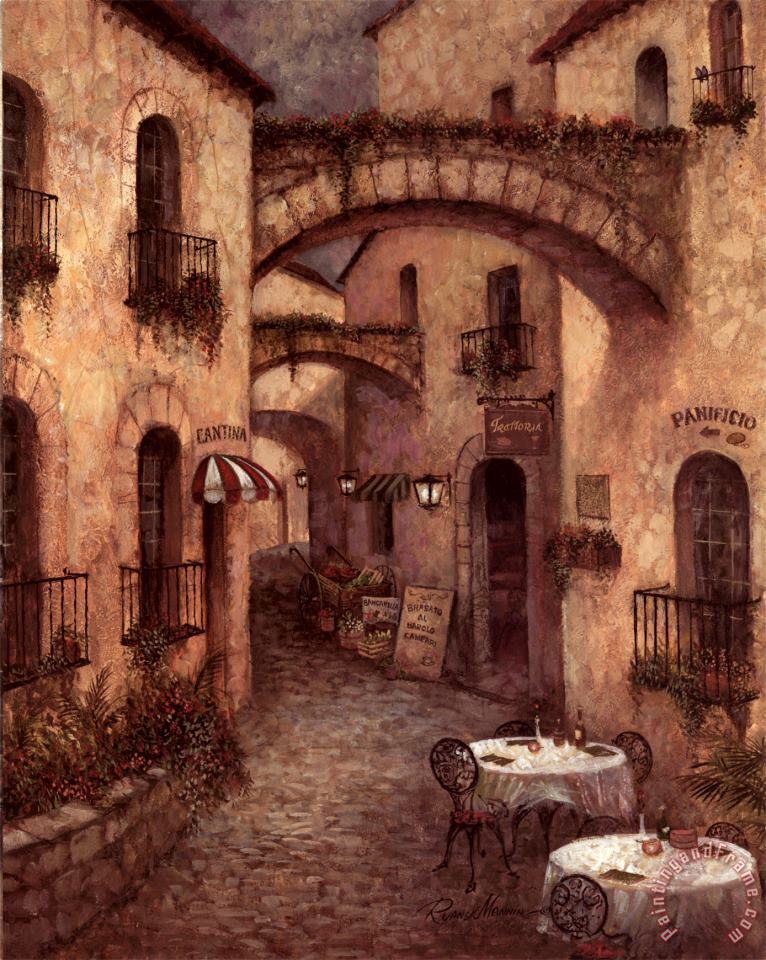 Ruane Manning Buon Appetito II Art Painting