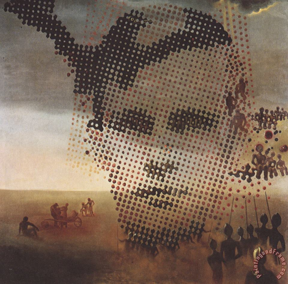 Portrait of My Dead Brother 1963 painting - Salvador Dali Portrait of My Dead Brother 1963 Art Print